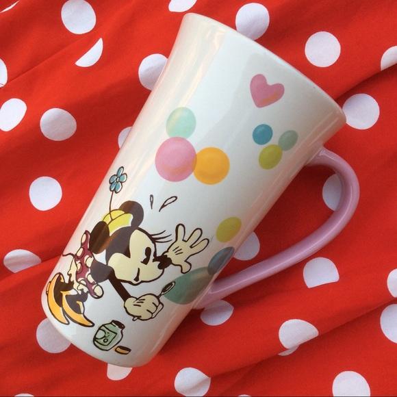 Disney Other - Disney Minnie Mouse Bubbles Mug Hidden Mickeys